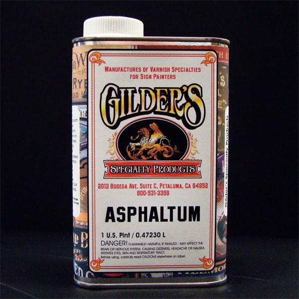 Gilders Asphaltum Varnish