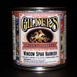 Gilders Window-Spar-Varnish